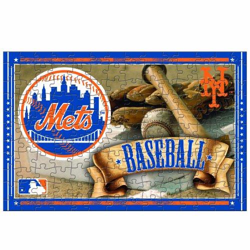 MLB New York Mets 150-Piece Puzzle (Baseball Puzzle Tin)