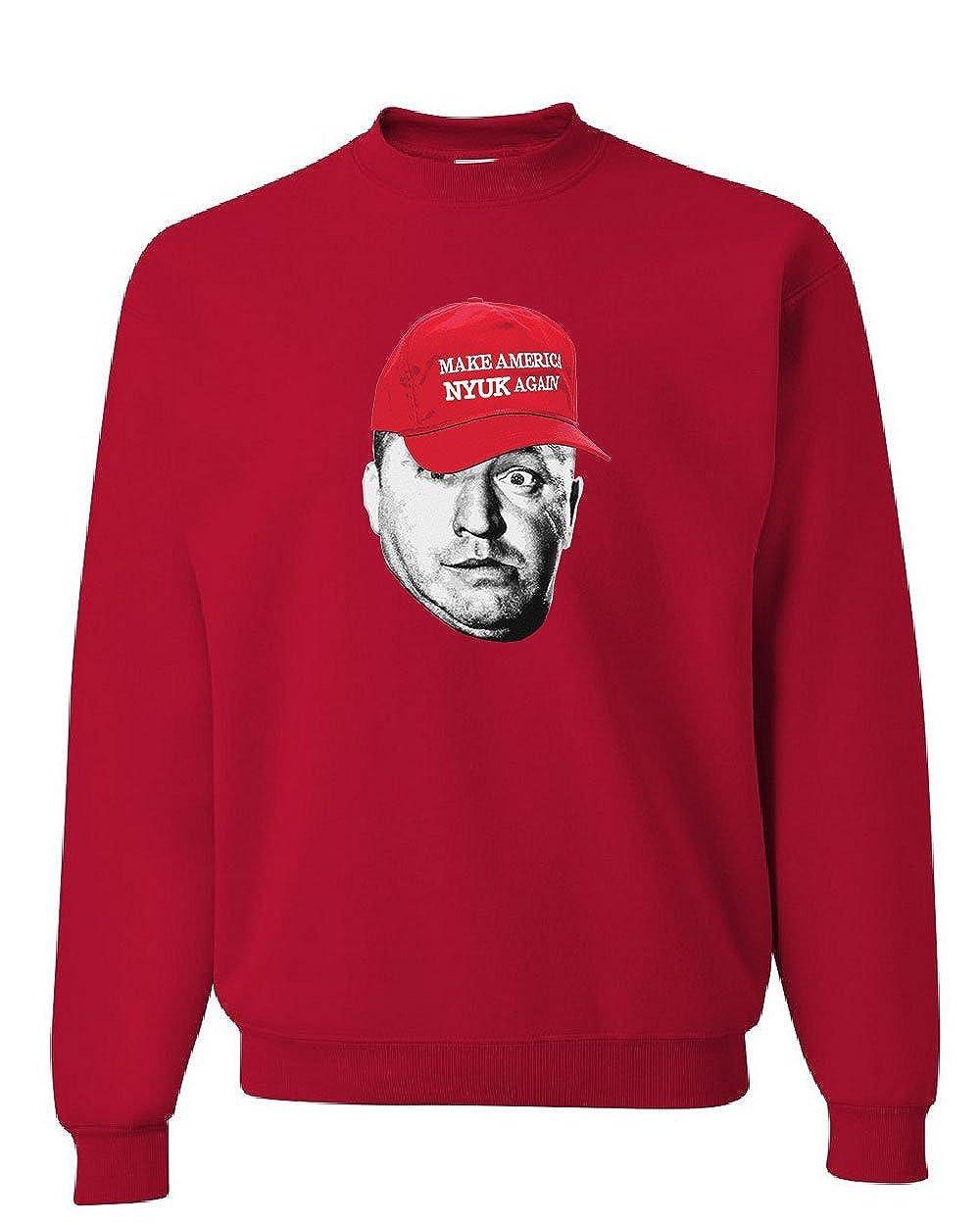 Make America Nyuk Again Sweatshirt The Three Stooges Comedy MAGA Sweater