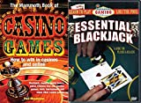 Learn Casino Gaming Essential Blackjack Like the Pros A Guide for Players & Dealers + The Mammoth Book of Casino Games Bundle
