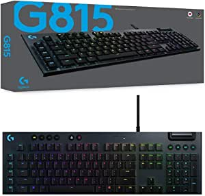 Logitech 920-009223 G815 LIGHTSYNC RGB Mechanical Gaming Keyboard - GL Linear