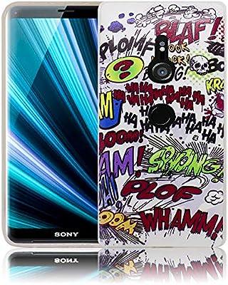 thematys® Sony Xperia XZ3 Cómics de Hahahahahaha Funda de Silicona ...