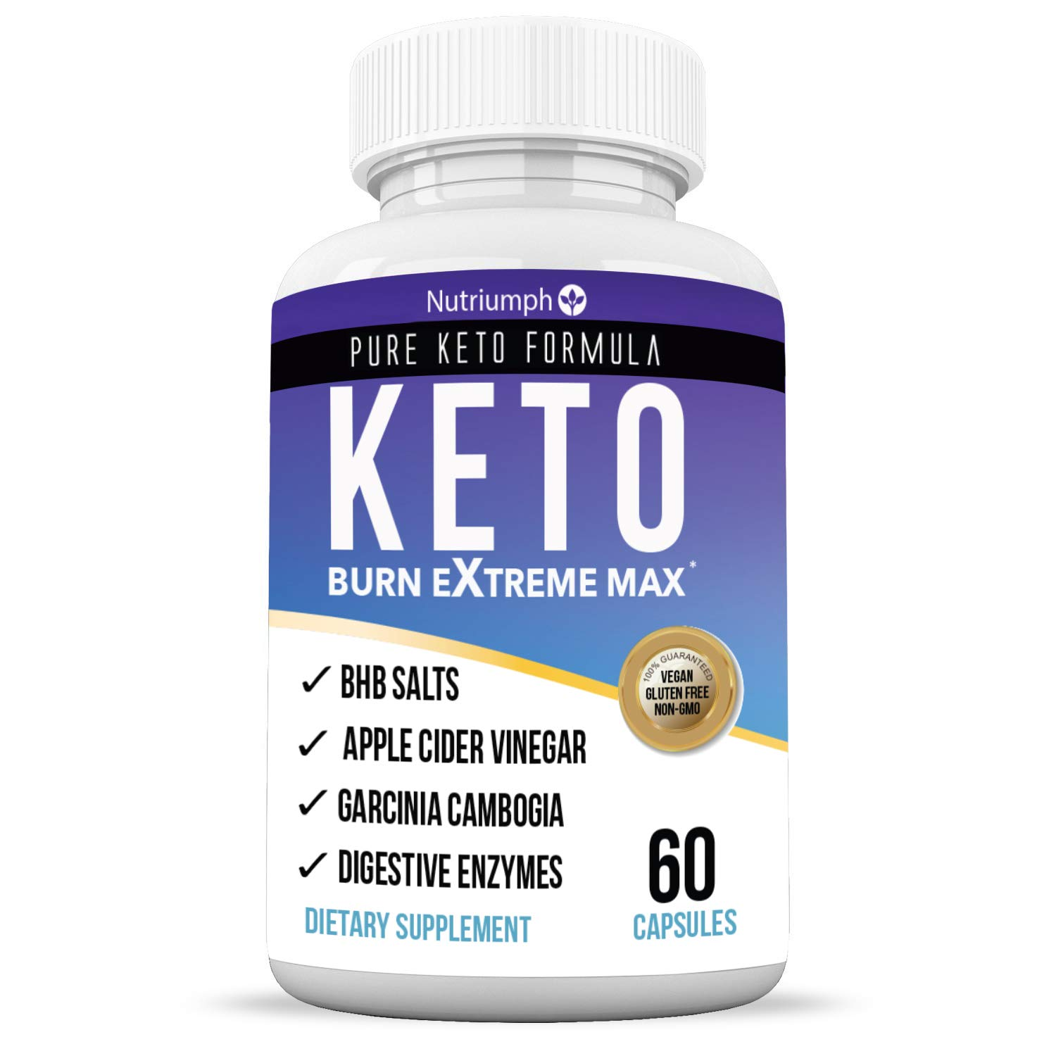 Details About Keto Burn Extreme Max Fat Burner Diet Pills Ketogenic Weight Loss 60 Capsules