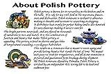 Polish Pottery Rectangular Baker 10-inch Red Zinnia made by Ceramika Artystyczna