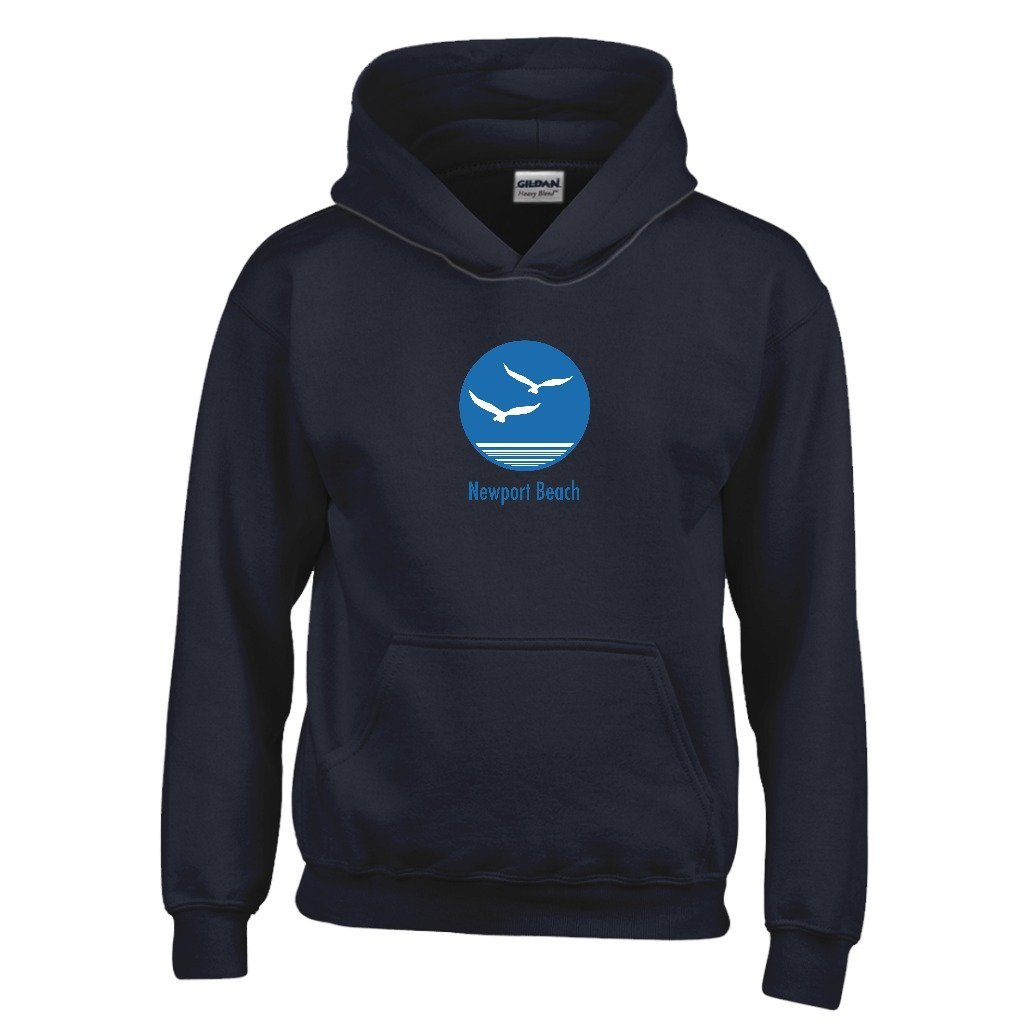 Tenn Street Goods Newport Beach Kids Sweatshirt California Seagull Youth Hoodie