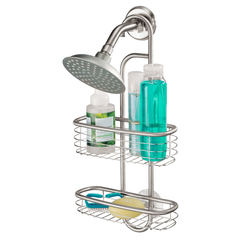 InterDesign Forma Ultra Shower Caddy, Stainless Steel Shower ...