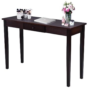 Amazon Com Giantex Wood Console Table For Entryway Hallway Modern