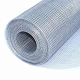 ALEKO Mesh Wire Roll Cloth 23 Gauge Steel 50 Feet Long 48 Inch Height 1/4 Inch Mesh