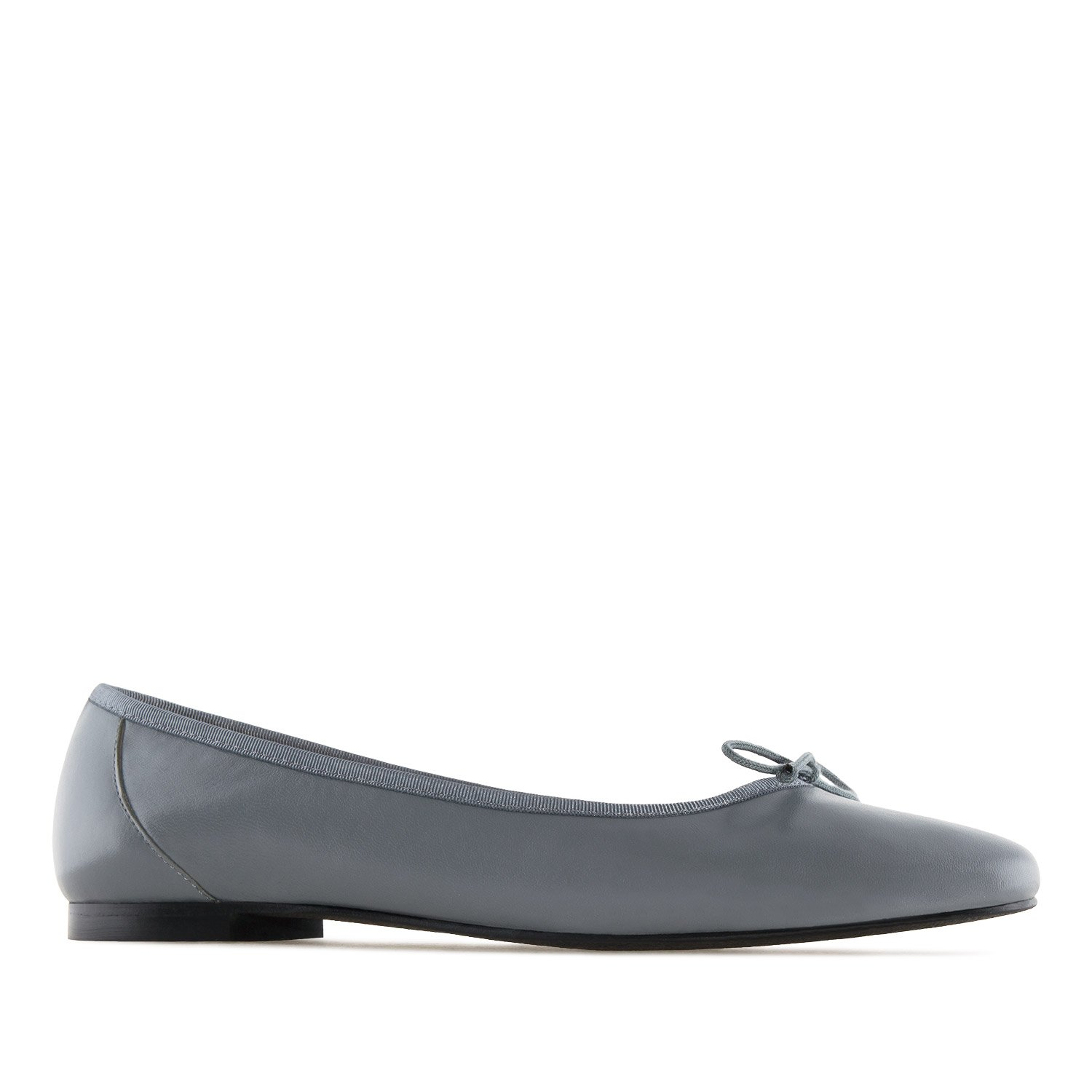 60%OFF Andres Machado.MARTA.Ballet Flats in Black LEATHER