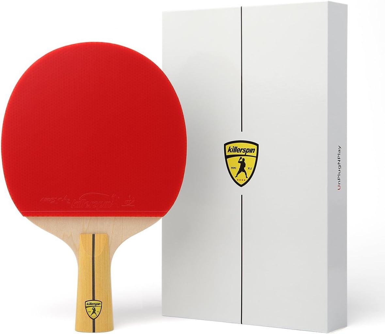Killerspin JET400 Pala de Tenis de Mesa-Penhold, Unisex-Adult, One Size