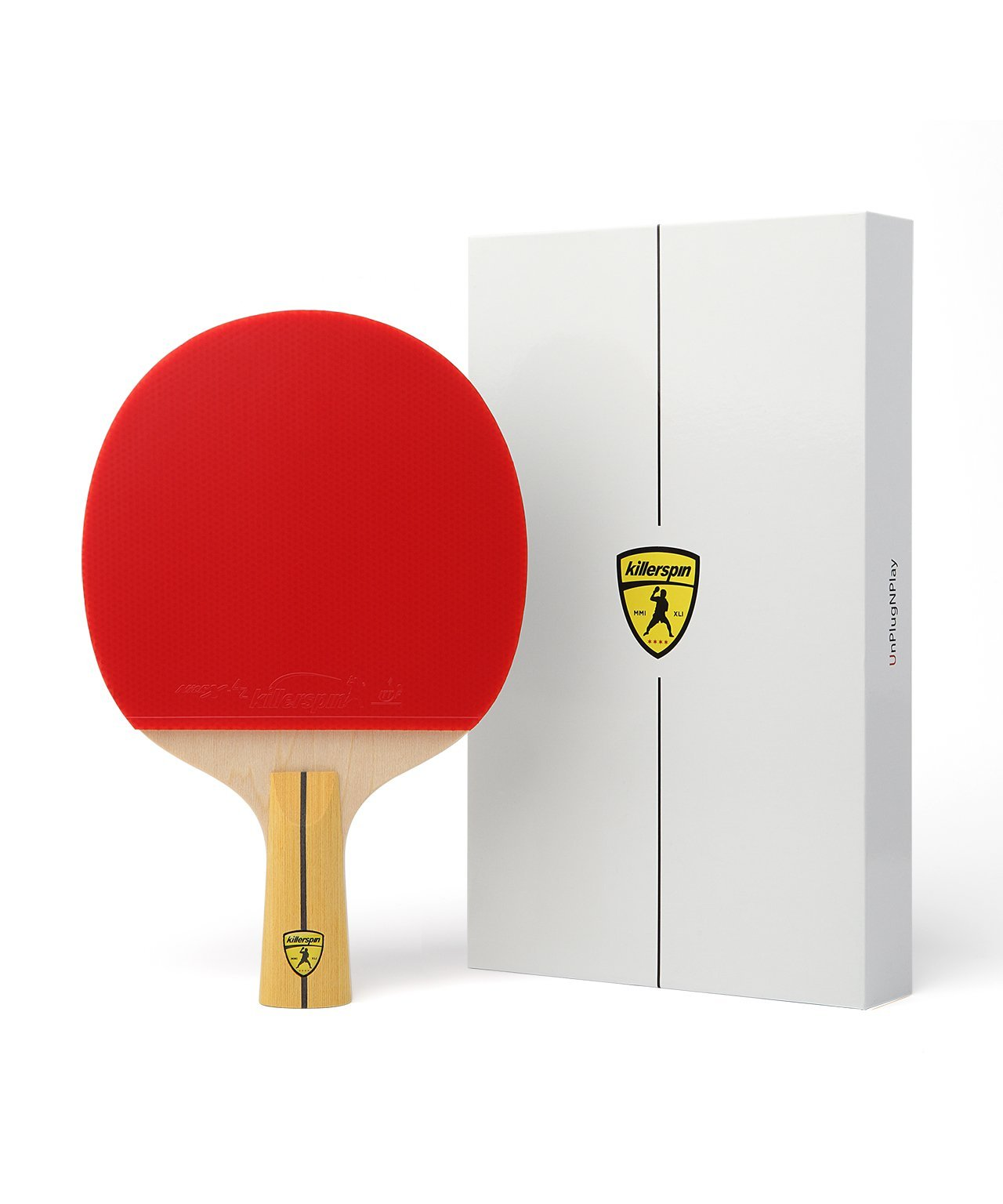 Killerspin Jet400 Table Tennis Paddle, Penhold