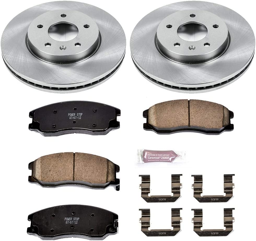Autospecialty KOE4590 1-Click OE Replacement Brake Kit