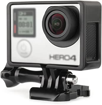 GOPRO HERO 4 BLACK EDITION MIDDLE FRAME REAR COVER PLATE HOUSING PART USA FAST