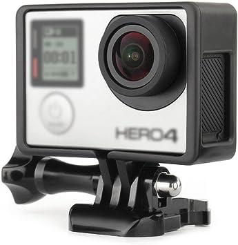 Hero 4 Cerradura de la hebilla de cubierta impermeable para GoPro Hero 3+