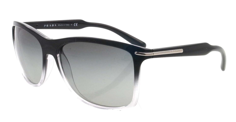 Amazon.com: Prada anteojos de sol pr10os zxa3 m1 Grey ...