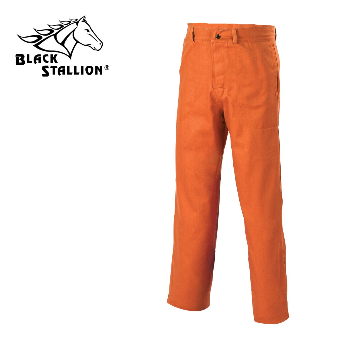 Revco Black Stallion 9 oz. FR Cotton Pants with 32'' inseam - Orange - 34''W x 32''L