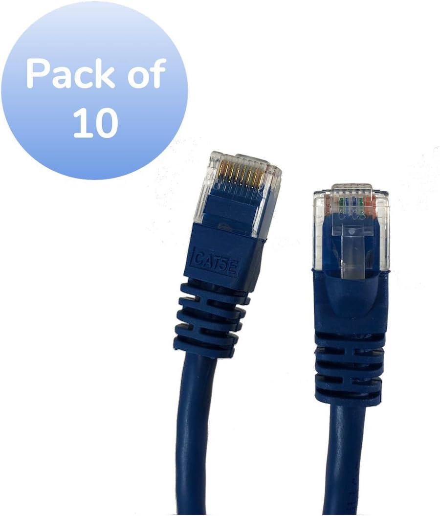 3 Foot Cat5E RJ45 Interconnect Patch Cable