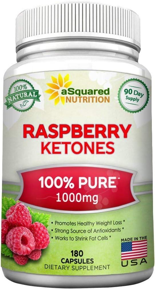 Amazon Com 100 Pure Raspberry Ketones 1000mg 180 Capsules