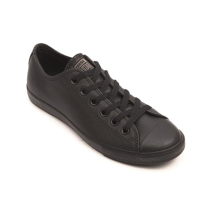56271f75e91f Converse Chuck Taylor A S Lean Leather Sneakers Black (9.0 Men EU 42.5)   Amazon.ca  Shoes   Handbags