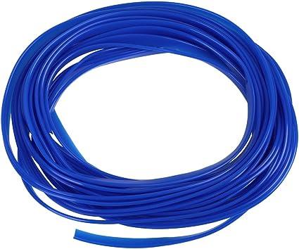16.4ft DIY Blue Car Styling Strip Trim Decal Interior Edge Gap Moulding Line