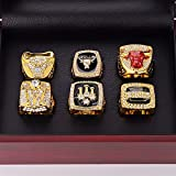 Nine Culture Set of 6 Bulls Championship