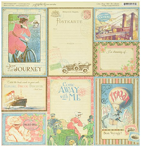 Graphic 45 Vintage Voyage Arts and Crafts | Crafts Store