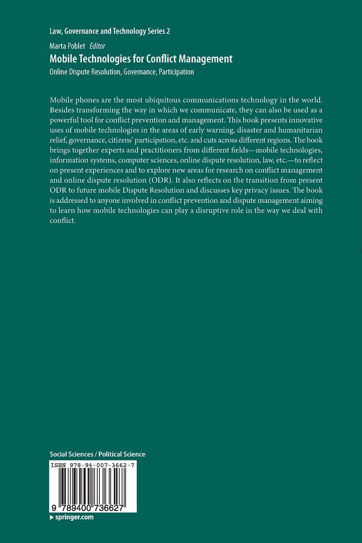 Online Dispute Resolution, Governance, Participation