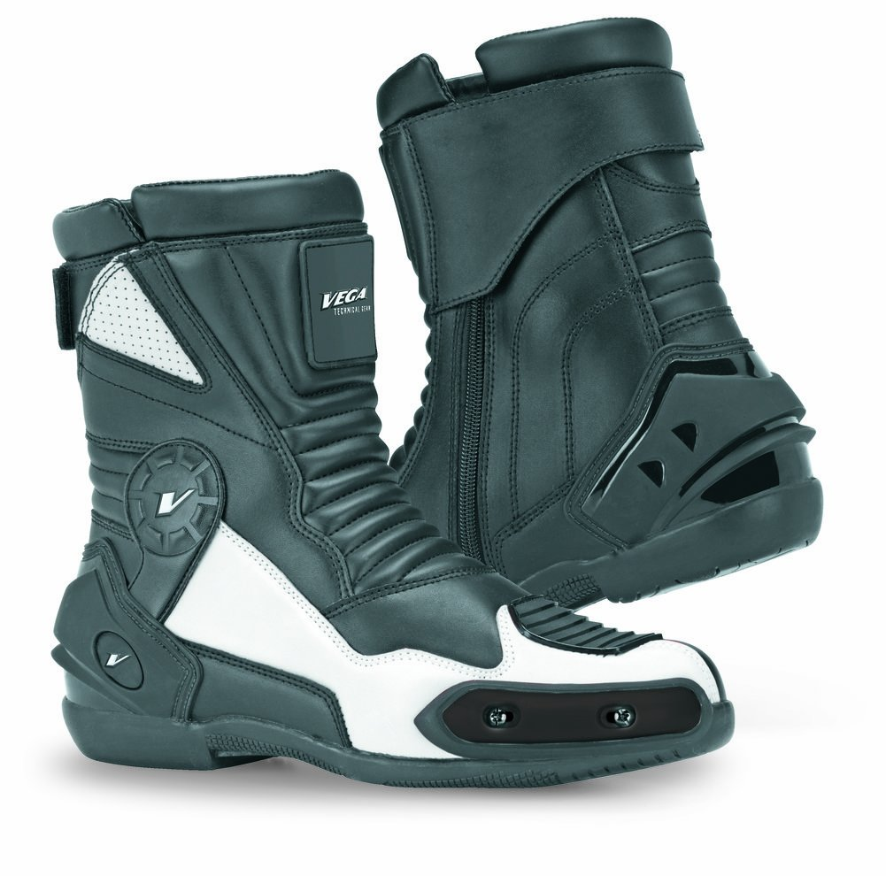 Vega 12 O'Clock Sport Boots (Black, Size 11) by Vega Technical Gear