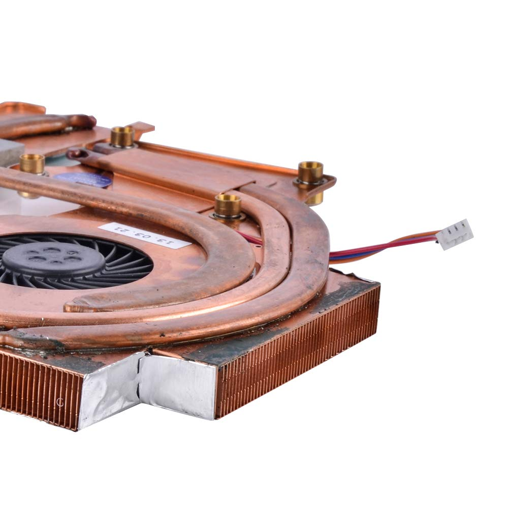 Eathtek Replacement CPU Cooling Fan with Heatsink Compatible for IBM Lenovo T61 T61p 14 44C0558 Series