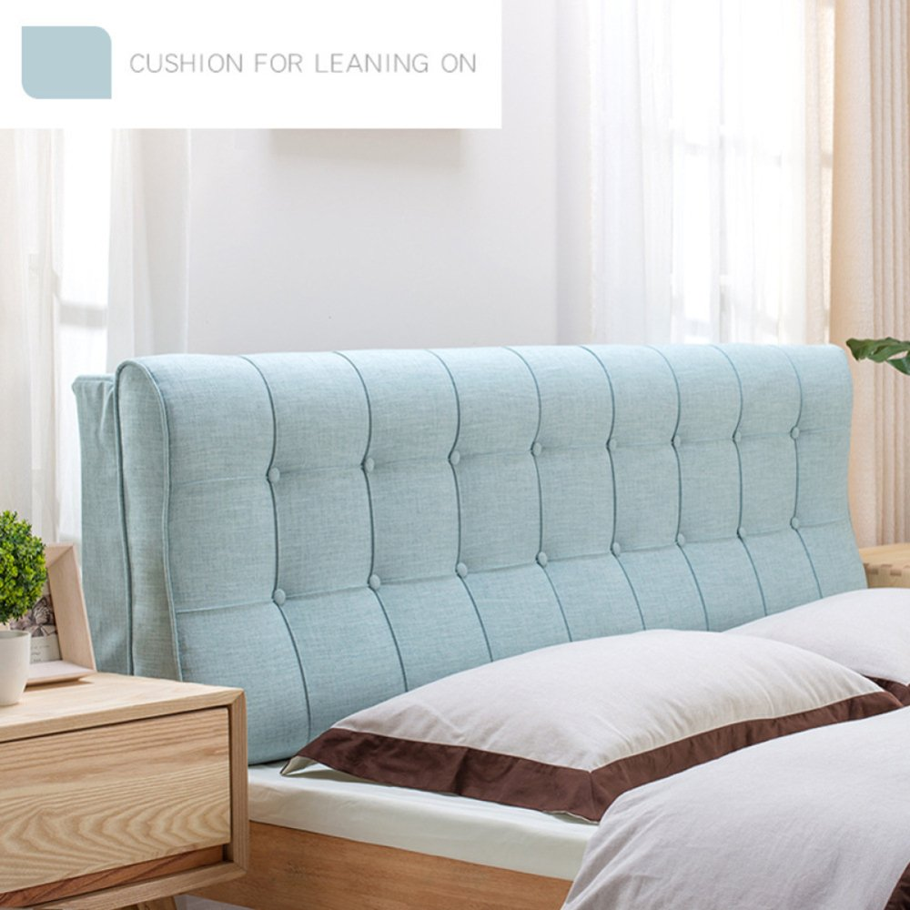 YIWANGO Bettkissen Kopfstützen Für Das Bett Weiche Rucksäcke Kissenbezüge Aus Leinen,A-210  12  58cm