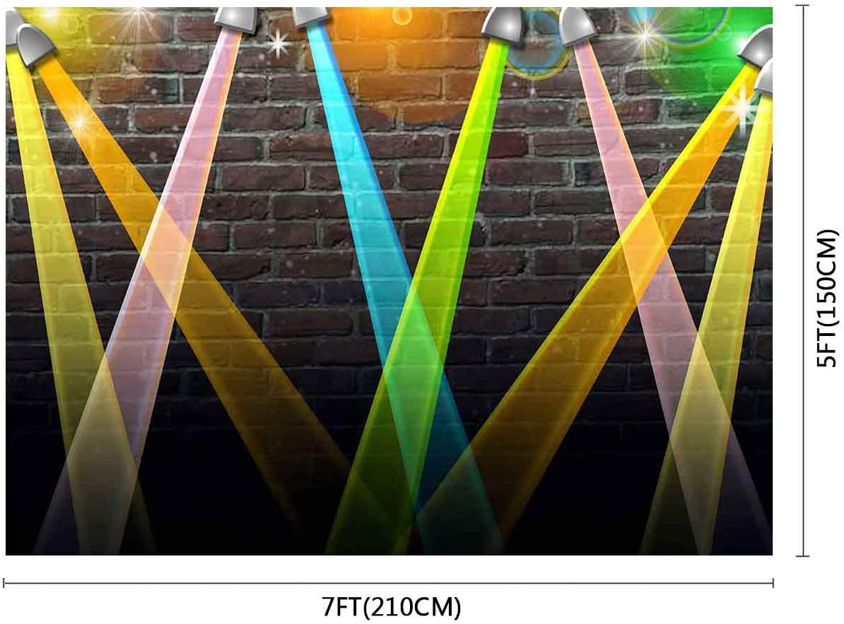 FUERMOR Background 7x5ft Color Light Wall Photography Backdrop Studio Photo Props XCFU338