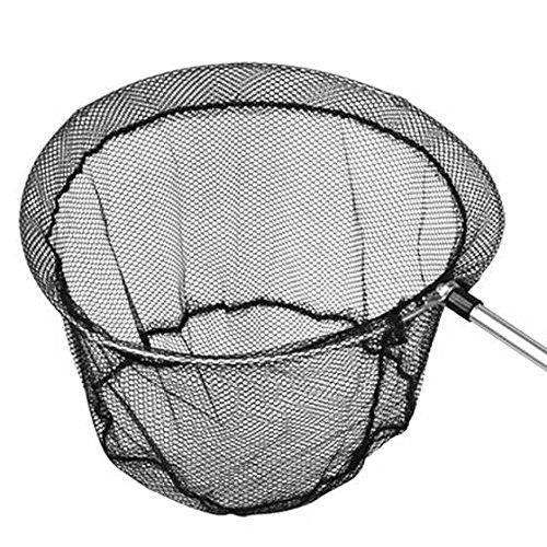 JVSISM Angeln Faltbarer Kescher mit Ausziehbarem Griff Pole Fischnetz