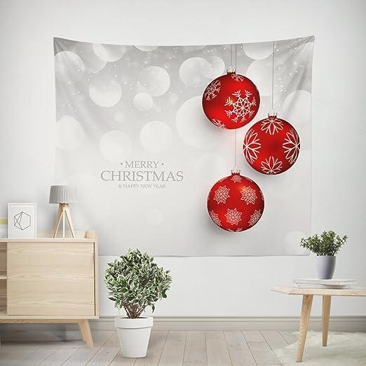 ZRSCL Personalidad Simple Tapiz casero decoración navideña ...
