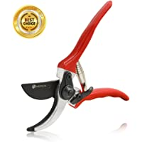 wsiiroon Pruning Shears Sharp Bypass Garden Pruning Tools