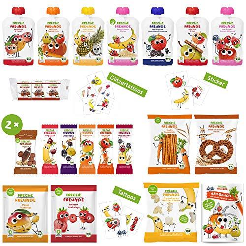 Freche Freunde Bio Adventskalender Weihnachtskalender Gefüllt Mit Bio Kinder Snacks Spaß Ohne Industriezucker Ideal Für Kinder 2200 G Amazon De Lebensmittel Getränke