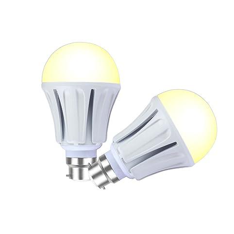 lampaous pack of 2 15w b22 led bulb 100w energy saving lamp equivalent led bulb