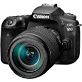 Canon DSLR Camera [EOS 90D] with 18-135 is USM Lens | Built-in Wi-Fi, Bluetooth, DIGIC 8 Image Processor, 4K Video, Dual…