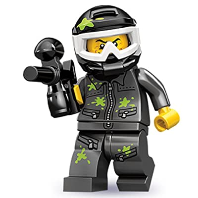 Lego Series 10 Paintball Player Mini Figure: Toys & Games