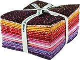 Bali Batiks Bali Dots Summer 20 Fat Quarter Bundle Hoffman Fabrics 885FQ-339