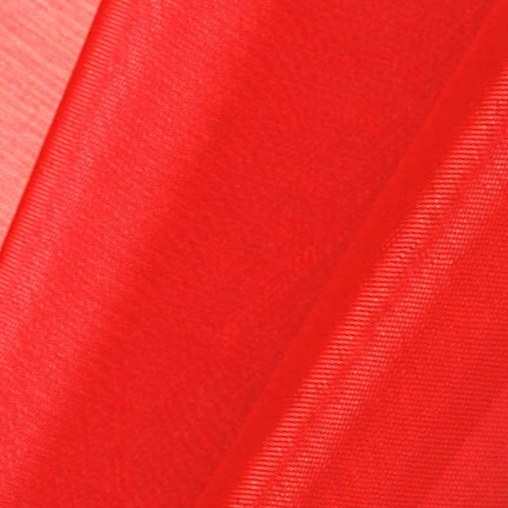 Cranberry Red Mirror Organza Fabric 58/60 Wide - 50 Yards By Roll (FB) by Fabric Bravo   B00V0E9BG4