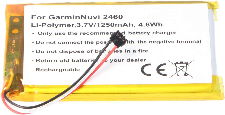 AccuCell 361-00051-02 - Batería para Garmin Nuvi 2460