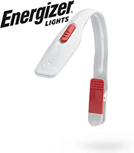 Energizer Clip on Book Light for Reading in Bed, LED Reading Light for Books and Kindles, 25 Hour Run Time, Kindle & Book Reading Lamp