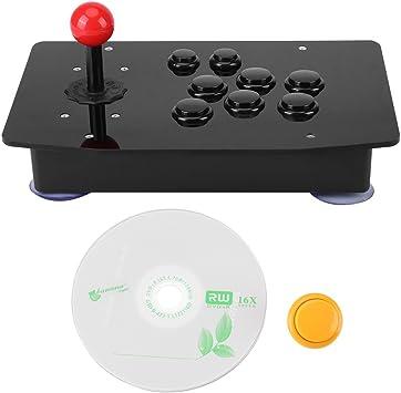 Hilitand El Controlador Arcade, el Joystick del Juego USB y Kit de Bricolaje de Botones con