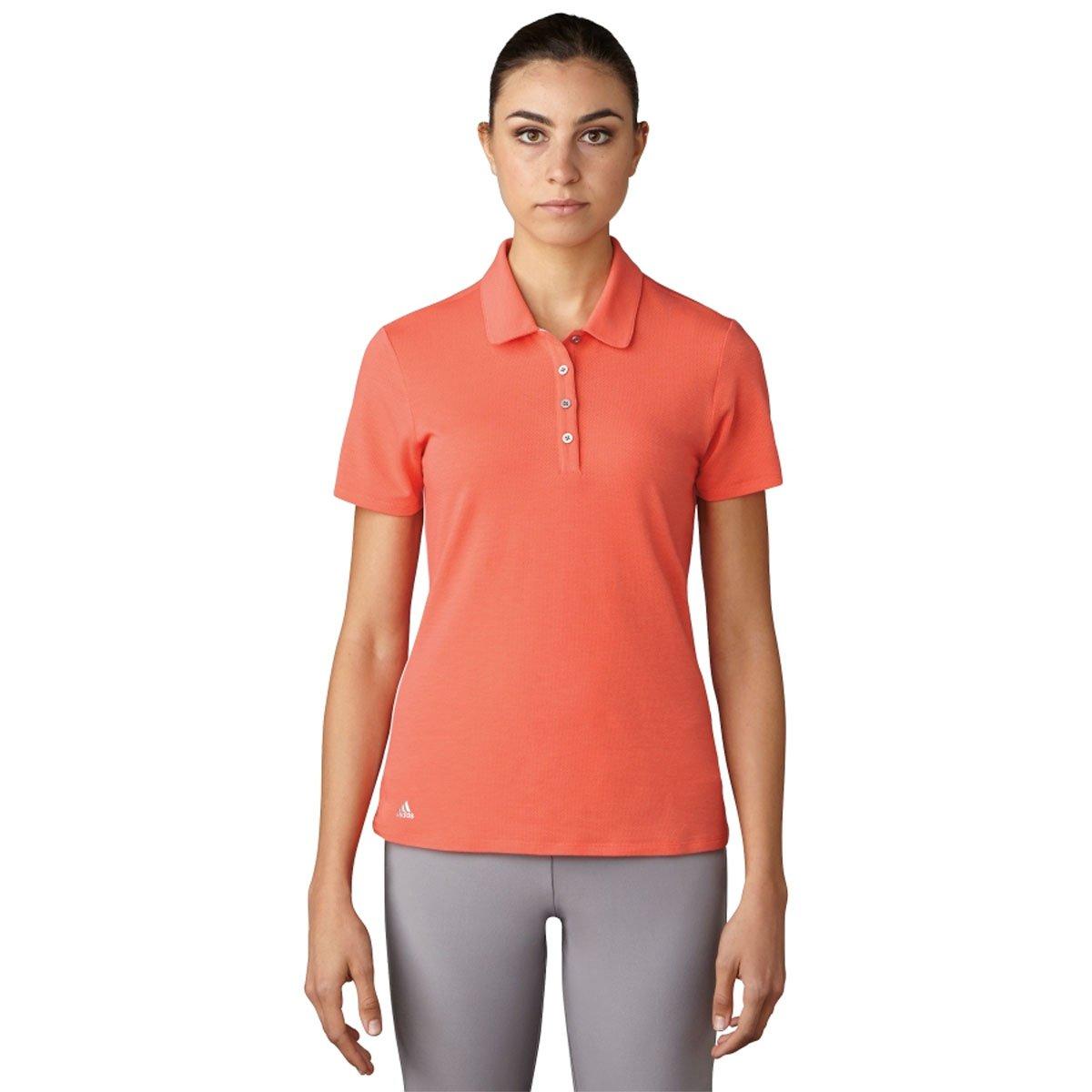 Adidas Golfレディース範囲WearポロTシャツ Medium Core Pink B01L1YYM66