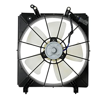 Amazon Com Radiator Cooling Fan Assembly Driver Side For Honda
