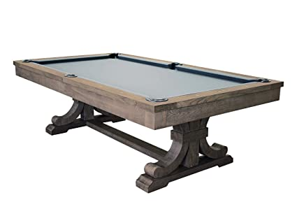 Amazoncom Barns Dining Pool Table With Conversion Top Weathered - 7 foot pool table dining top