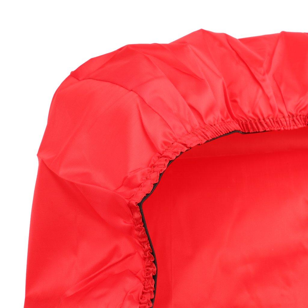 Generic 9ft Rouge Antipoussi/ère Durable Rectangle Housse en Polyester Couverture Protection Compl/ète pour Table de Billard