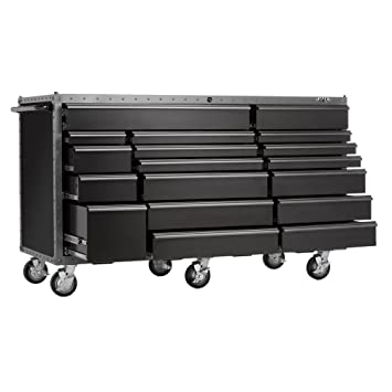 Viper Tool Storage Armor Series VV7218BLT 72 Inch 18 Drawer Rolling Tool  Cabinet,