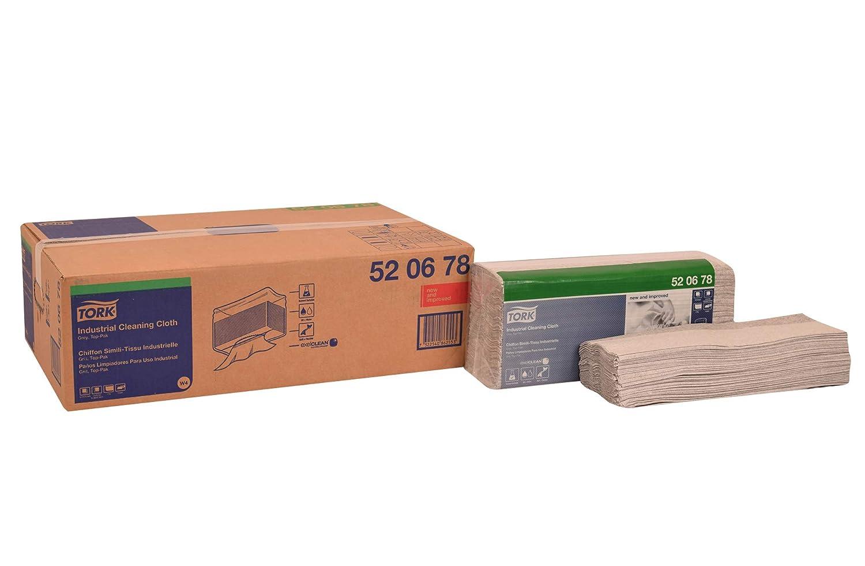 Tork - Paño de limpieza industrial 520678, top-pak, 1 capa, 15.0