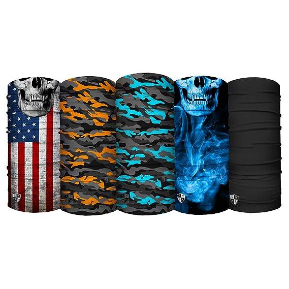 S A Kids Shield 5-Pack of Multipurpose UV Face Shields for Boys /& Girls