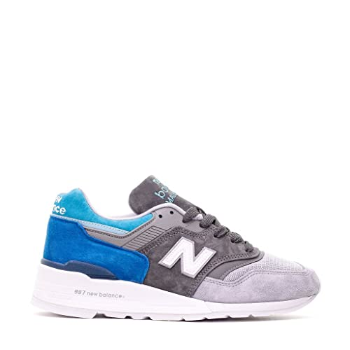 NEW BALANCE Uomo Sneaker 997 Made in USA Color Spectrum Pack turchese